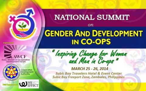 national summit on gender and development in coops